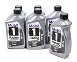Mobil 1 44516 0W-30 Full Synthetic Racing Motor Oil - 1 Quart (Pack of 6)