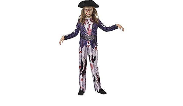 Disfraz de Novia Pirata de Halloween para niña, con pantalón ...