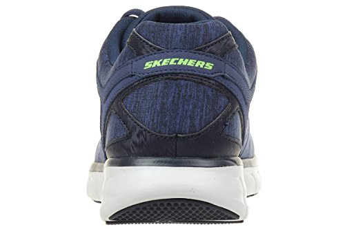 de nbsp;Instant LGBK 51189 Synergy Navy Reaction Zapatillas lona Skechers hombre para 5qYHt