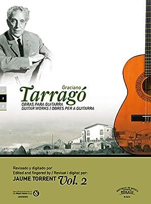 Obras para guitarra, Vol. 2: Amazon.es: Tarragó Pons, Graciano ...