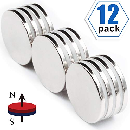 Strong Neodymium Disc Magnets 50% Stronger Than N35 Rare Earth Magnets - 1.26