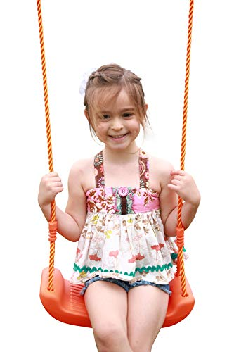 Kids Outside Swings For Swingset - Childrens Outdoor Playset Seat, Replacement Swing, Children Indoor Playground Set Child Accessories Parts Fun Backyard, Birthdays 2019 Toy (Kids For Swingsets)