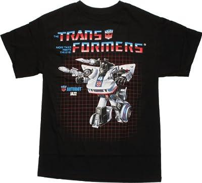 Transformers Jazz Bolt Adult T-Shirt