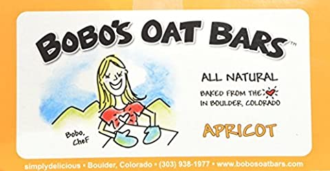 Bobo's Oat Bars All Natural, Apricot, 3-Ounce Packages (Pack of 12) by Bobo's Oat Bars - Bar Apricot