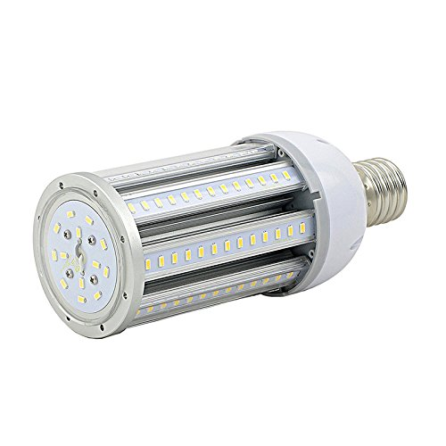 (Orlich 2 Packs 36w Led Corn Bulb,Led Corn Light,E26 Medium Base,4500lumens,Replace 150-175W Metal Halide Bulb,5000K,Used in Warehouse/Post Top/Garden/Acorn/Highbay/Lowbay/Garage)