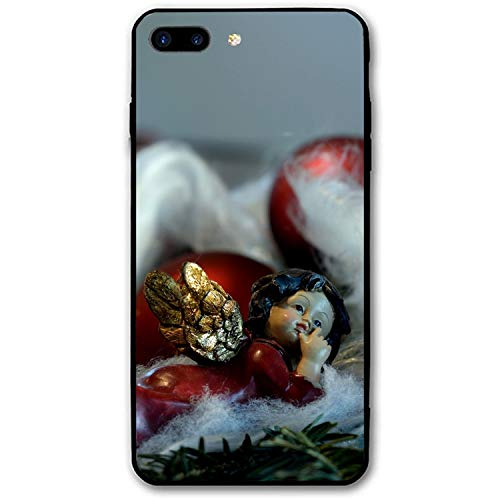 Christmas Angel Custom iPhone 7/8 Plus Cover Slim Fit Hard PC Compatible for iPhone 7/8 Plus Case 5.5