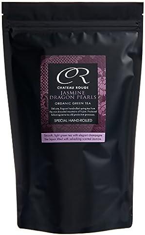 Chateau Rouge - Jasmine Dragon Pearls, Loose Leaf Organic Green Tea, 350g