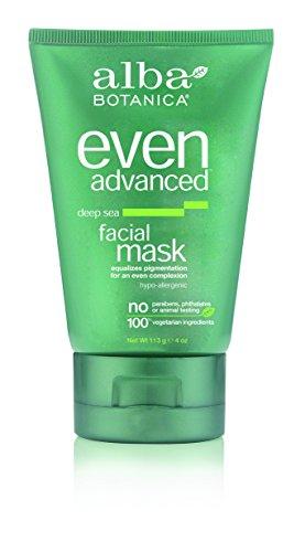 Facial Mask Alba - Alba Botanica Even Advanced, Deep Sea Facial Mask, 4 Ounce (Pack of 2)
