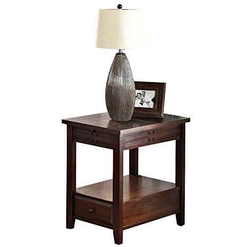 Steve Silver Company Crestline Chairside End Table Review
