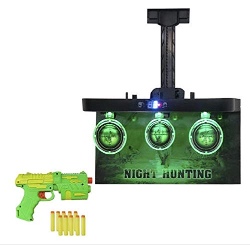 MD Sports Night Vision Hunting Game, Integrated LED Lights, Real Arcade Sounds, and LED Timer, 8+