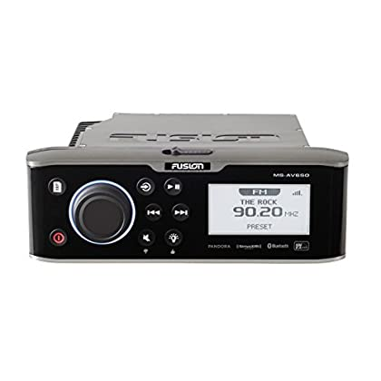 Image of Car & Vehicle Electronics Garmin 010-01355-00 Fusion Entertainment 650 Series Marine Entertainment System with DVD/CD Player