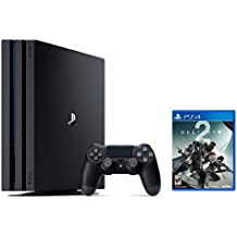PS4 Pro Bundle (2 Items): PlayStation 4 Pro 1TB Console Jet Black and Destiny 2 Game Disc
