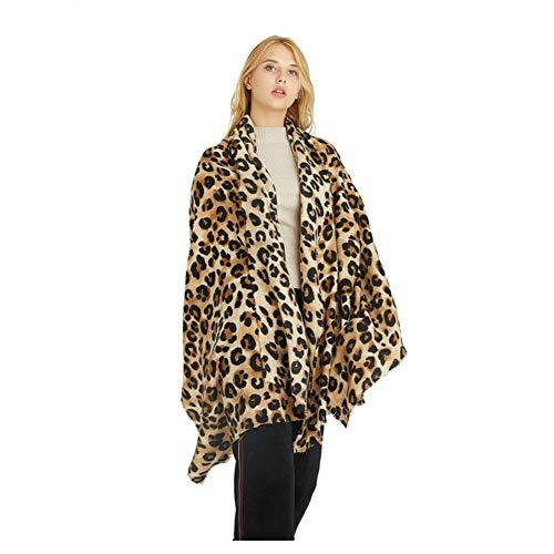 Women Cashmere Leopard...