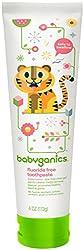 Babyganics Flouride-Free Toothpaste - Watermelon - 4 oz