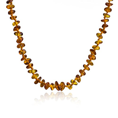 Amber Small Strand Necklace 14