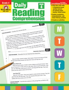 Amazon Com Daily Reading Comprehension Grade 4 Teacher S