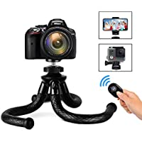 Sanipoe Flexible Phone/Camera Tripod Holder Adjustable Cell Phone Tripod