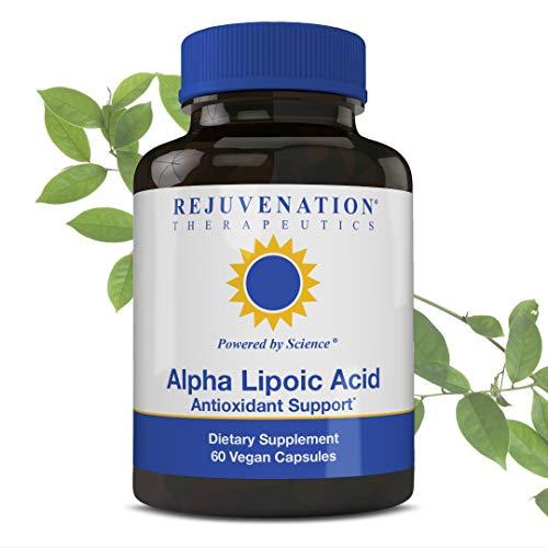 Rejuvenation Therapeutics - Alpha Lipoic Acid, Antioxidant Defense (60 Vegan Capsules, 250mg)