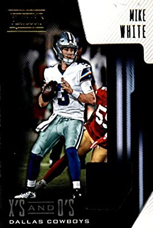 279a48c91b1 2018 Playbook Xs and Os Jerseys Football #20 Mike White Jersey/Relic Dallas  Cowboys