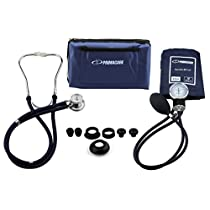 Primacare DS-9181-BL Professional Blood Pressure Kit with Spragu