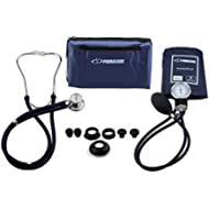 Primacare DS-9181-BL Professional Blood Pressure Kit, Includes an Aneroid Sphygmomanometer and...