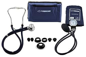 Primacare Medical Supplies DS-9181 - Kit profesional de medición de tensión arterial (con estetoscopio Sprague-Rappaport)