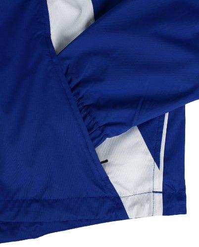 Jacket white Uomo Warm Da Royal Caldera Asics Up CqwB8BX
