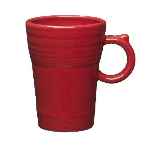 Fiesta Latte Mug, Scarlet (Red)
