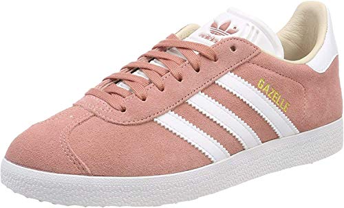 adidas Damen Gazelle Pumps, grau, 35.5 EU