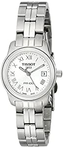 Tissot Women's T0492101103300 PR 100 Silver Roman Numeral Dial Watch