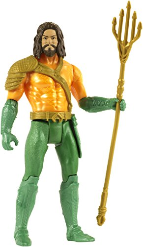 DC Comics Multiverse Batman V Superman:Dawn Of Justice Battle-Ready Aquaman Figure