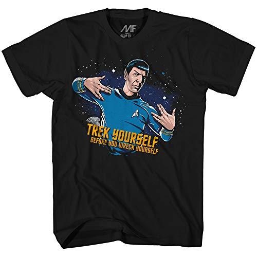 Star Trek Spock Treck Yourslef Before Wreck Adult T-Shirt