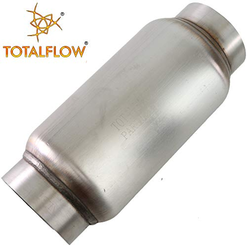 Bullet Muffler - TOTALFLOW 944 Mini Muffler 409SS | 3.5