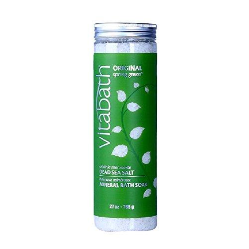 (Vitabath Original Spring Green Bath Salts, 27 Ounce)