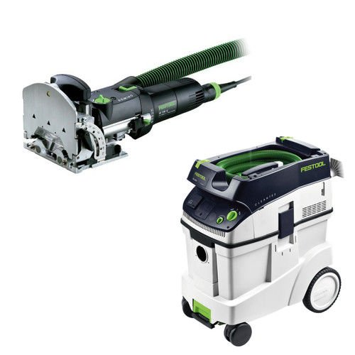 Festool DF 500 Q Domino Set with T-LOC + CT 48 Dust Extractor Package by Festool