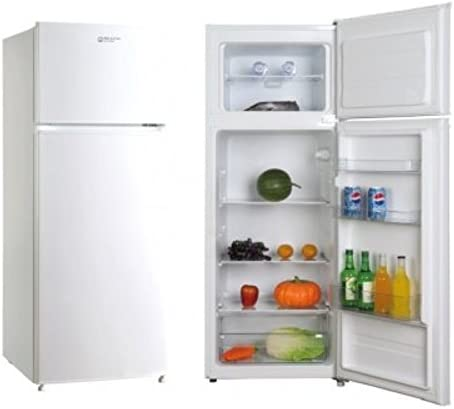 frigorifico 2 puertas Blanco Eas Electric EMF145 166L 41L A+: ...