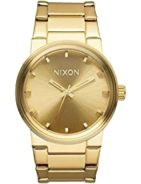 Quartz Steel and 18K and Gold Plated Casual Watch(Model: A160-502)