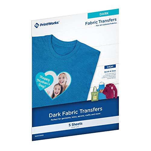 Printworks Dark T-Shirt Transfers for Inkjet Printers