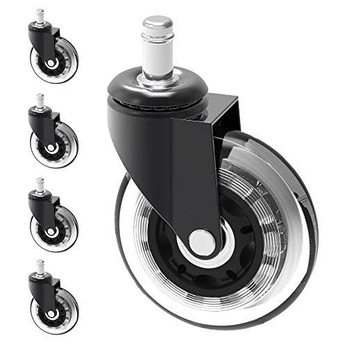 Herrman 10 mm stelo chair caster wheel replacement for Pavimenti x esterni ikea