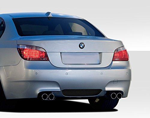 - Duraflex ED-RIB-236 M5 Look Rear Bumper Cover - 1 Piece Body Kit - Compatible For BMW 5 Series 2004-2010