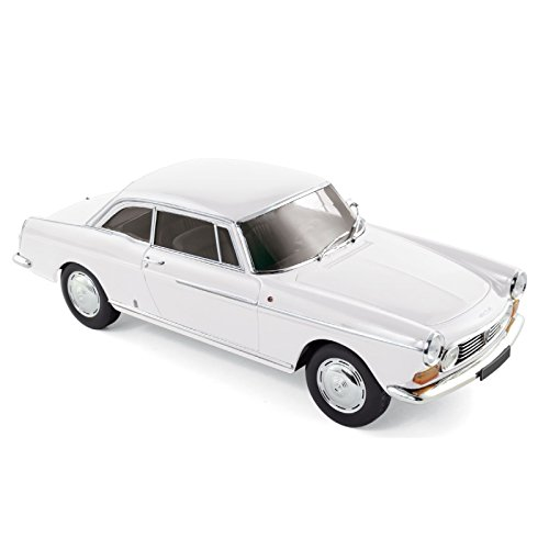 Norev 1: 18 1967 Peugeot 404 Coupe – Arosa Weiß – nv184831
