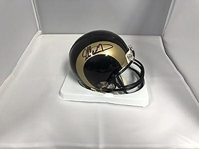 Todd Gurley Signed Autographed St Louis Rams Mini Helmet COA & Hologram