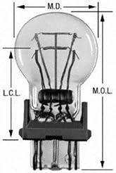 Wagner Lighting 3157 Miniature Bulb - Bo...