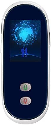 Smart Language Translator 4G Wifiグローバルオンライン35言語インスタントボイス同期翻訳学習旅行ビジネス会議(アップグレード版),White