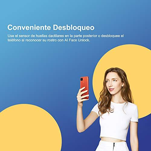 """Smartphone Xiaomi Redmi 9C Azul 32GB, Tela de 6.53"""", 2GB de RAM, Câmera Traseira Tripla, Android 10"""