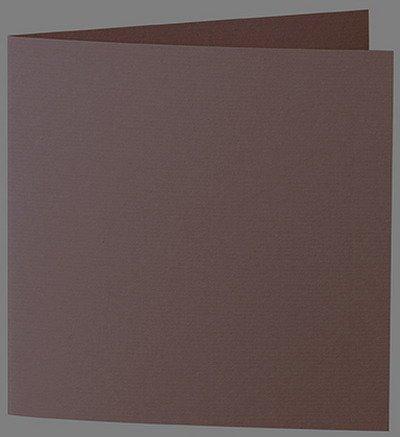 50 Stück    Artoz Serie 1001 1001 1001 Doppelkarten gerippt    Quadratisch, 260 x 130mm, hochwertig, braun B002JJ5A96 | Perfekte Verarbeitung  baa561
