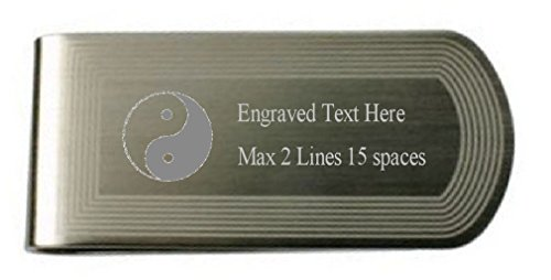 Evil Yin Pouch Good Text Money Yang in Own Clip Engraved SSvErx