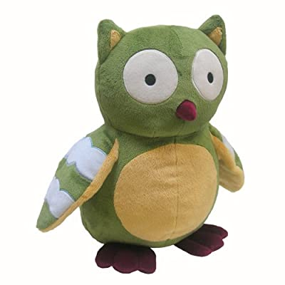 Lambs And Ivy Enchanted Forest Plush Owl Green from Lambs & Ivy