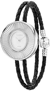 Pandora 811040LS-D1 - Reloj analógico de cuarzo para mujer con correa de piel, color negro
