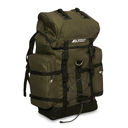 Everest Hiking Pack, Olive Black